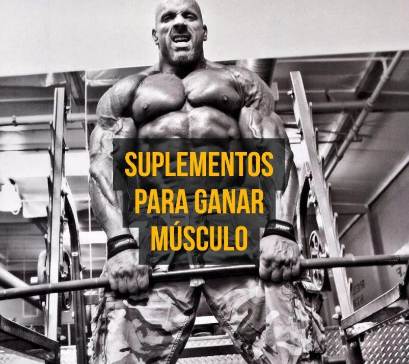 suplemento para bajar de peso y ganar masa muscular despues de