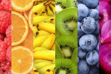 Conoce las calorías de la fruta