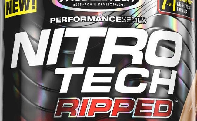 Como tomar nitro tech ripped para adelgazar