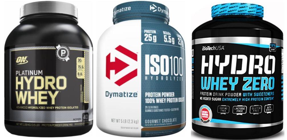 mejores proteinas hidrolizadas
