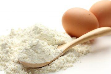 clara de huevo en polvo