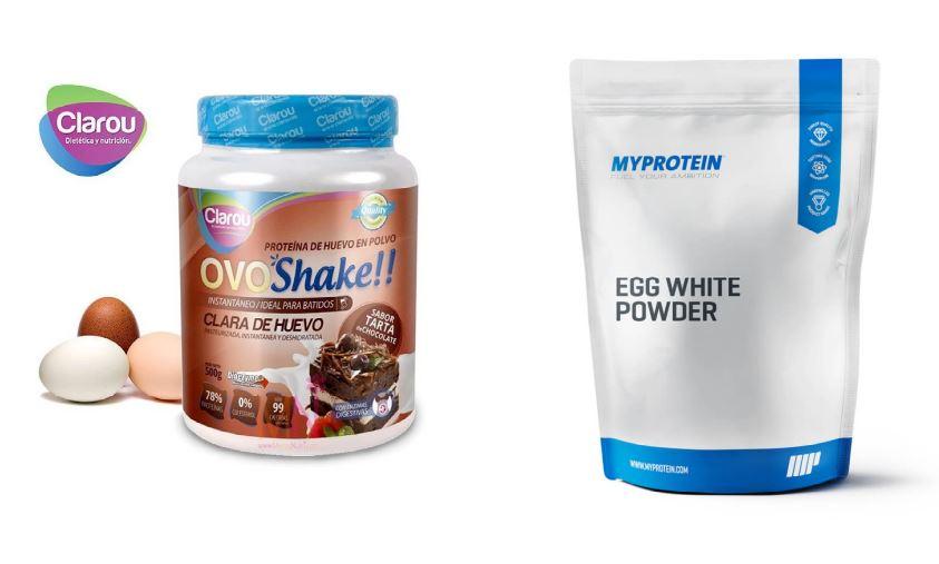 suplementos de clara de huevo en polvo