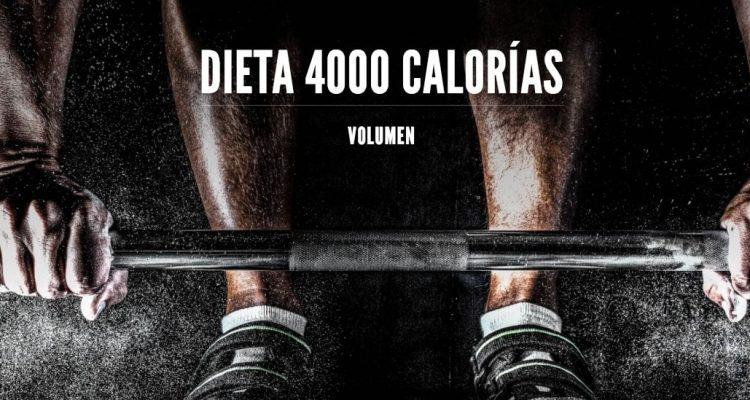 Dieta de 3000 calorias para deportistas
