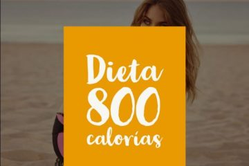 dieta 800 calorías