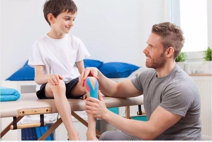 uso de kinesiotape en pediatria