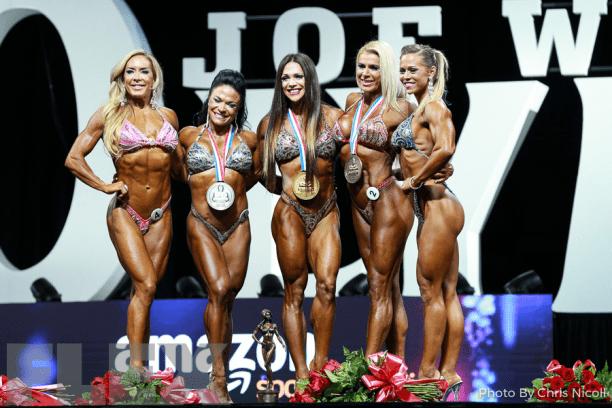 ganadoras fitness olympia 2017