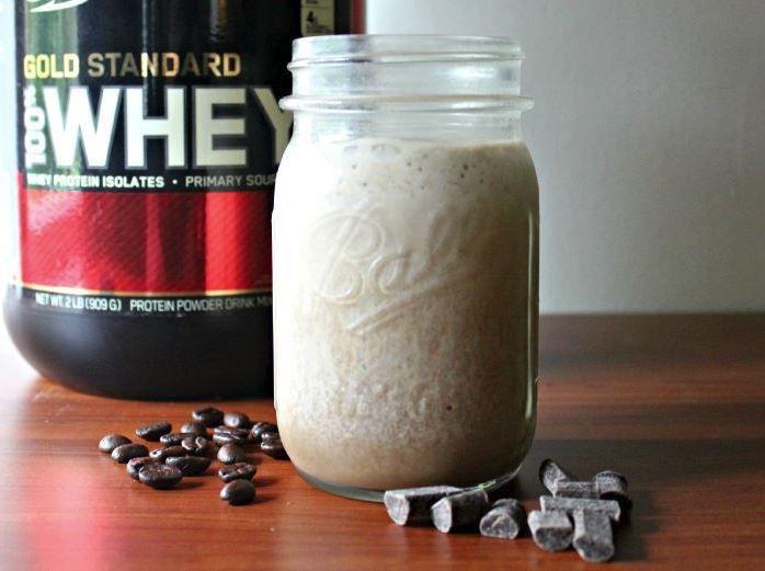 batido de proteínas casero