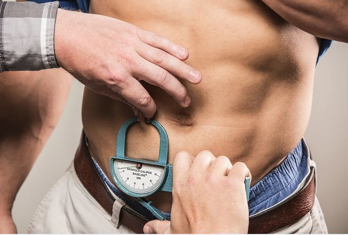medición abdominal
