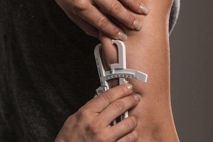 medición tríceps