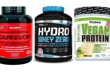 mejores proteínas sin lactosa