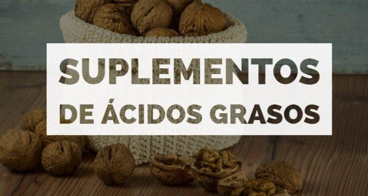 suplementos ácidos grasos