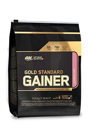 Optimum Nutrition Gold Standard Gainer, Fresa - 3.25 kg