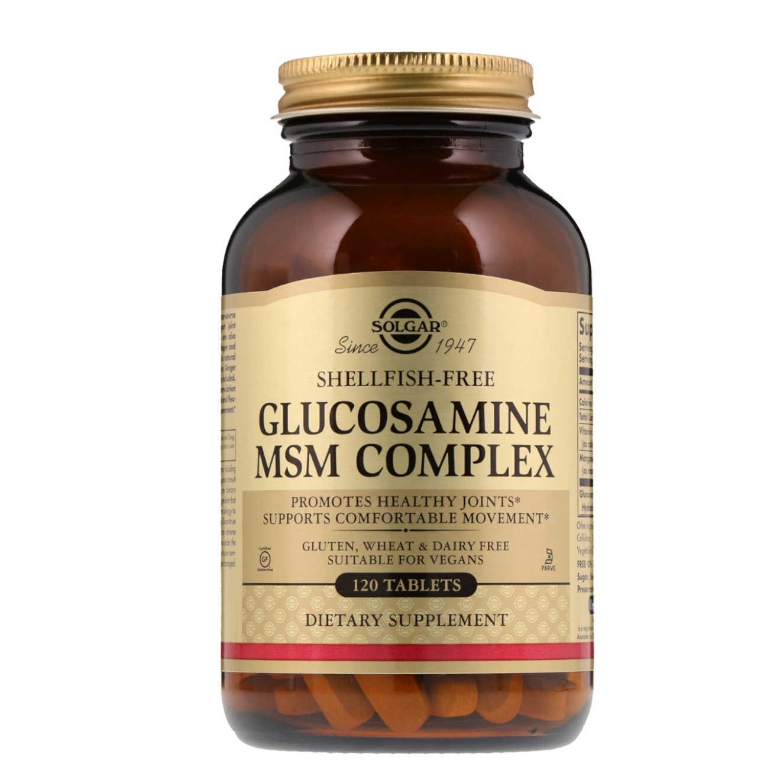 GLUCOSAMINE MSM COMPLEX - 120 tabs