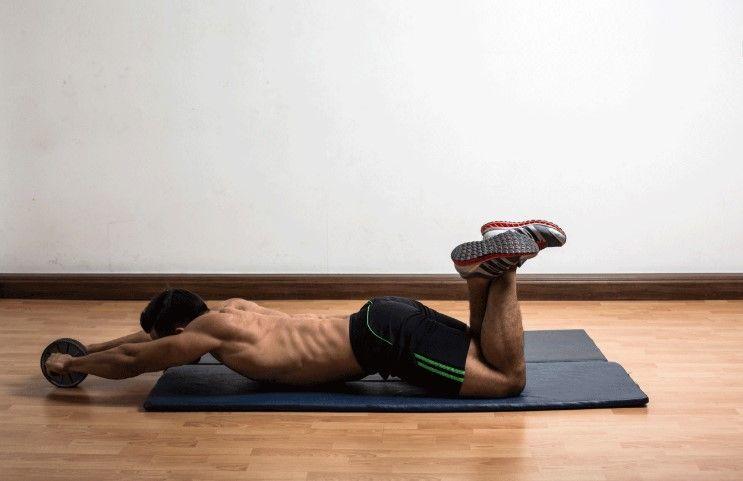 ejercicios rueda abdominal