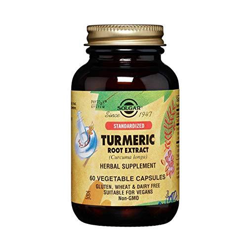 Solgar Cúrcuma Extracto de Raíz Cápsulas vegetales - Envase de 60