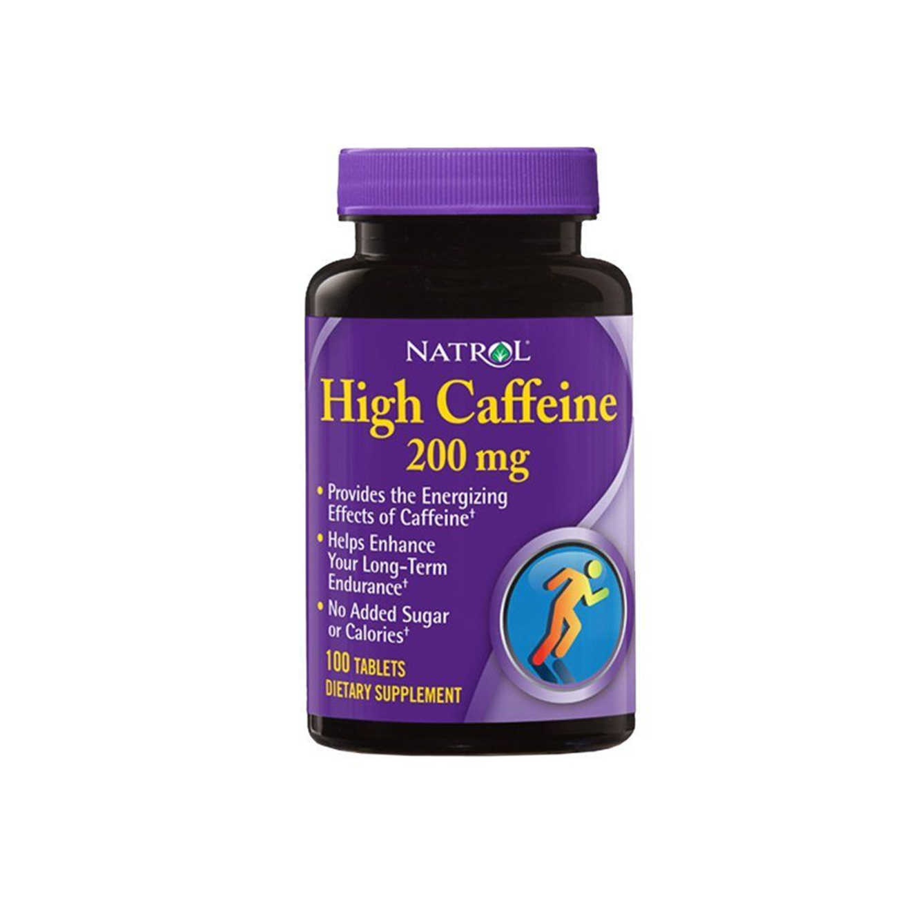 HIGH CAFFEINE 200mg - 100 tabs