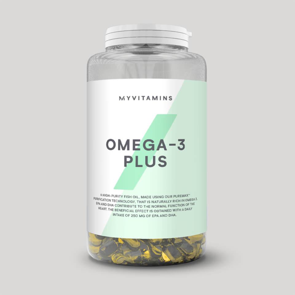 Omega-3 Plus - 90Cápsulas