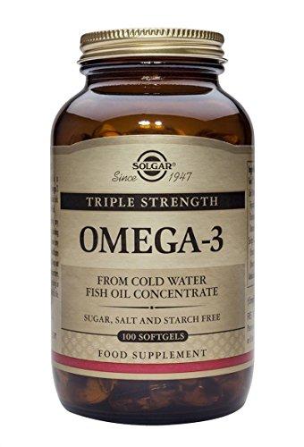 Solgar Omega-3 EPA Triple Concentración Cápsulas blandas - Envase de 100
