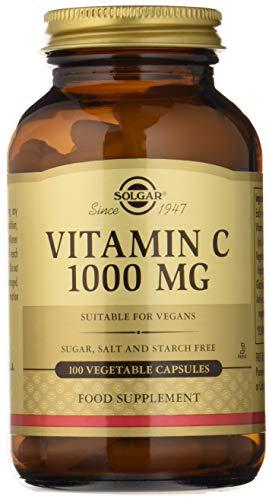 Solgar Vitamina C 1000 mg Cápsulas vegetales - Envase de 100