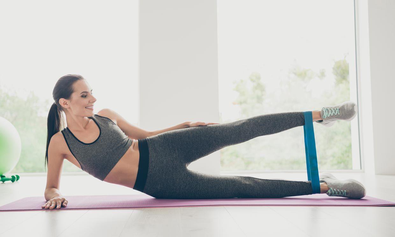 fuertafit+: ejercicios con bandas elasticas
