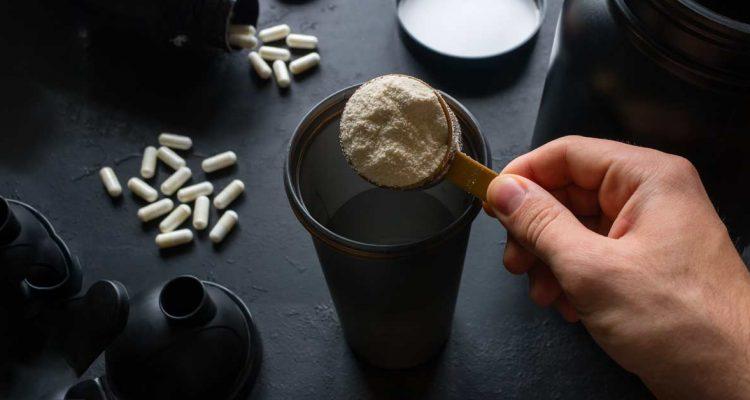 proteína aislada