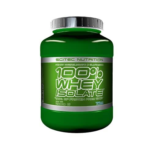 Scitec Nutrition 100% Whey Isolate con L-glutamina adicional, 2 kg, Vainilla