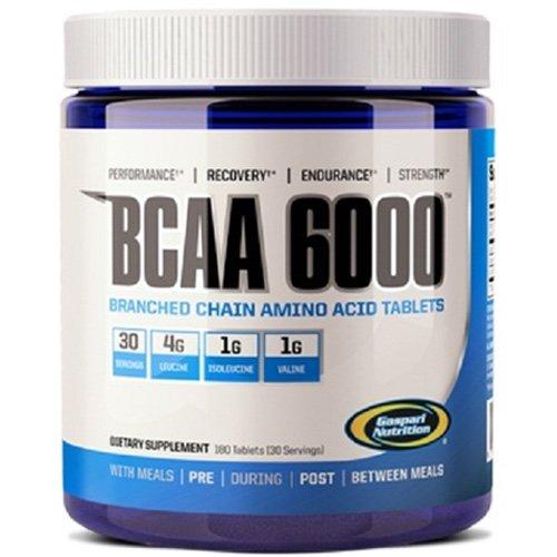 Gaspari Nutrition BCAA 6000 180 unidades 240 gr