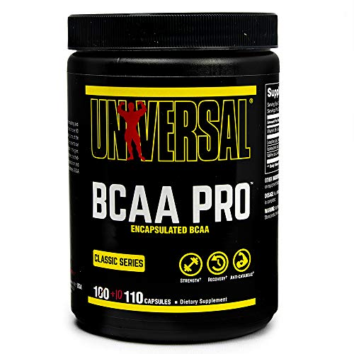 Universal Nutrition BCAA Pro Capsules, 100-Count